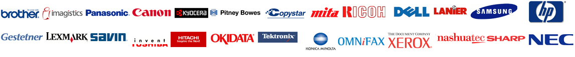 Copier Lease Chicago - Supported Brands